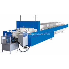 pressure leaf plate and frame chamber filter press