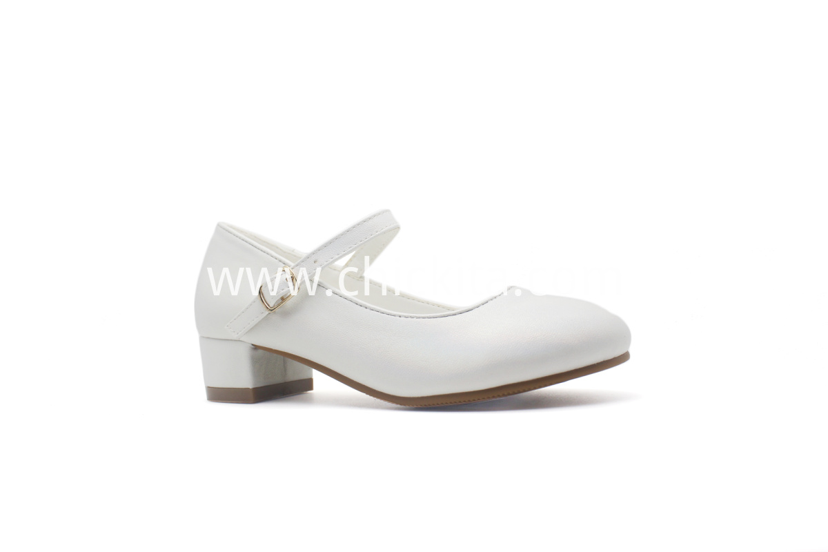 Fashion Girls Party Shoes with strap