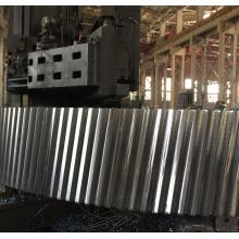 Large module casting steel mill helical ring gear