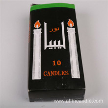 Wholesale price stick white candles to Libya