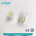 Plastic Octagonal Heparin Cap For IV Catheter