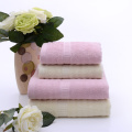 Luxurious Bamboo Solid 4-piece Towel Set