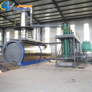 Lub Oil Refining Equipment Distillation Plant