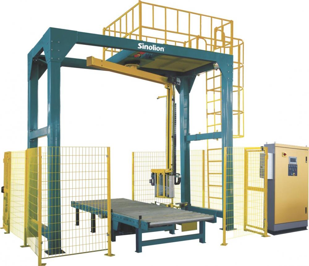 Automatic Rotate Arm Pallet Stretch Wrapper