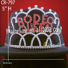Rhinestone Pageant Tiara CR-797
