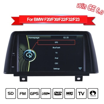 Wince navigation display screen for BMW F20