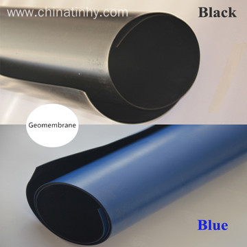 Black Rolling 1.5mm HDPE Geomembrane for Landfill Liner