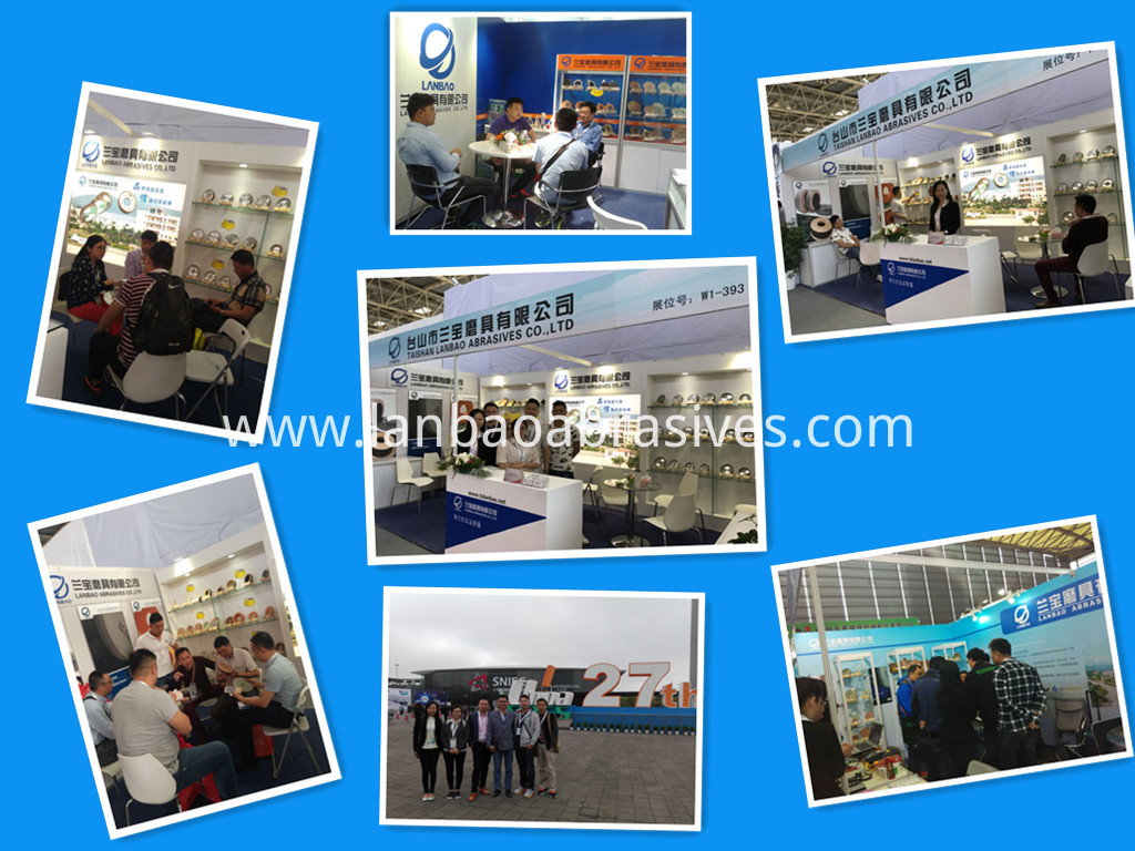 PE/FA Diamond Wheel packing exhibition