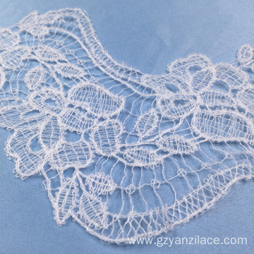 White Crochet Lace Trim for Dress