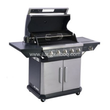 High Quality for Natural Gas Grills,Outdoor Gas Barbecue Grill,Natural Gas BBQ Grills Manufacturer in China 5 Burner With Side Burner Nature Gas Grill export to Spain Importers