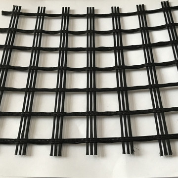 25.4mm Mesh Size Fiberglass Geogrid for Road Reinforcement