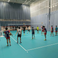 Recommend match use handball volleyball court floor