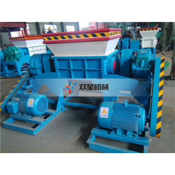 Waste Used Tire Recycling shredder Equipment machine