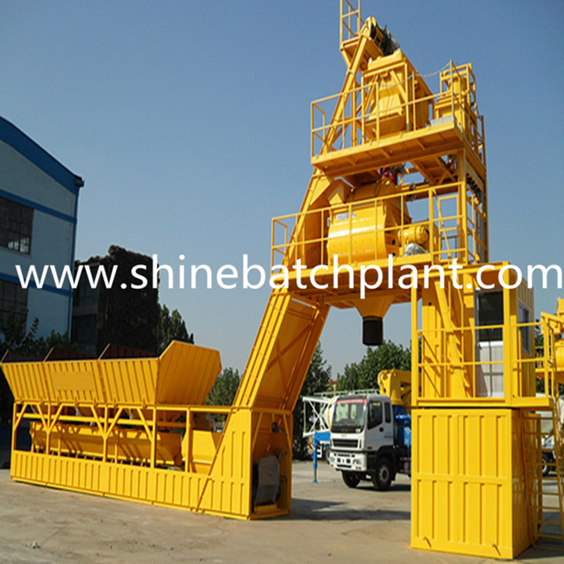 50 Foundation Free Concrete Batching Plant