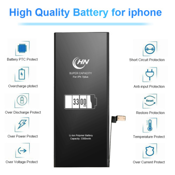 Remplacement de la batterie 3300 mAh Iphone 7 Plus