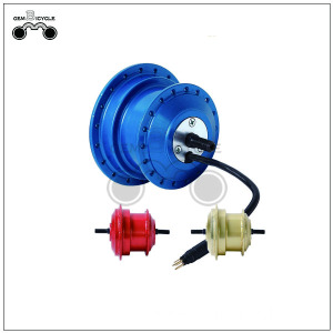 24v geared electric motor with v brake