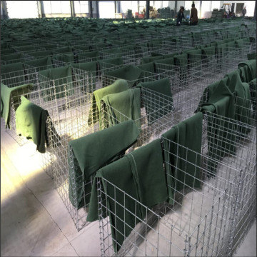 army used welded wire defensive barrier fence