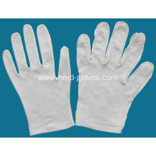 White Color Thin Cotton Gloves