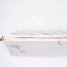 Luxury Cosmetic Packaging Marble Makeup Bag
