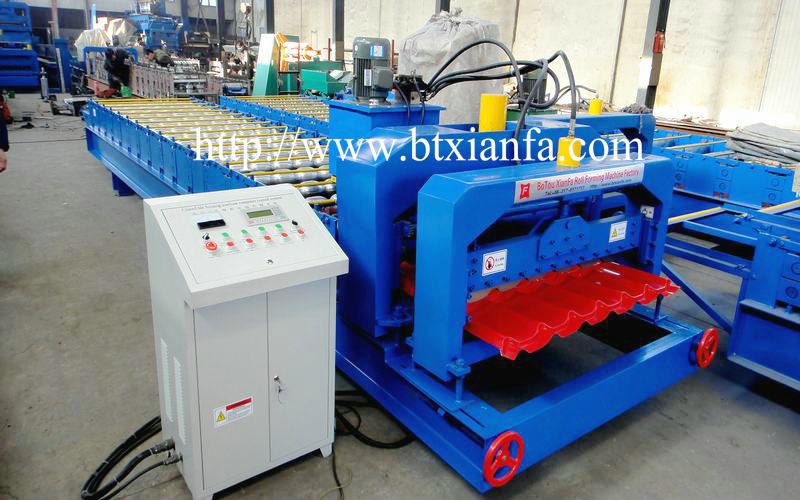 steel roof tile forming machine 2
