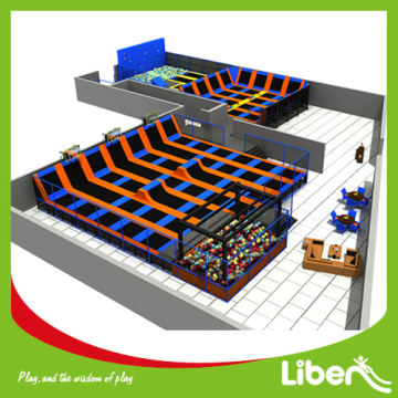 Customized Various Large Indoor Trampoline Park for Adult