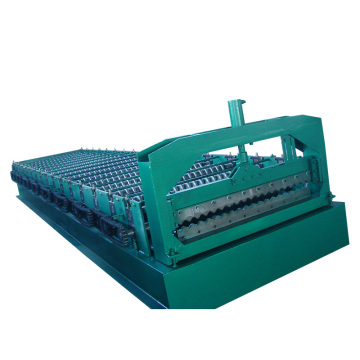 Cheap price customized width corrugated panel roll forming machine