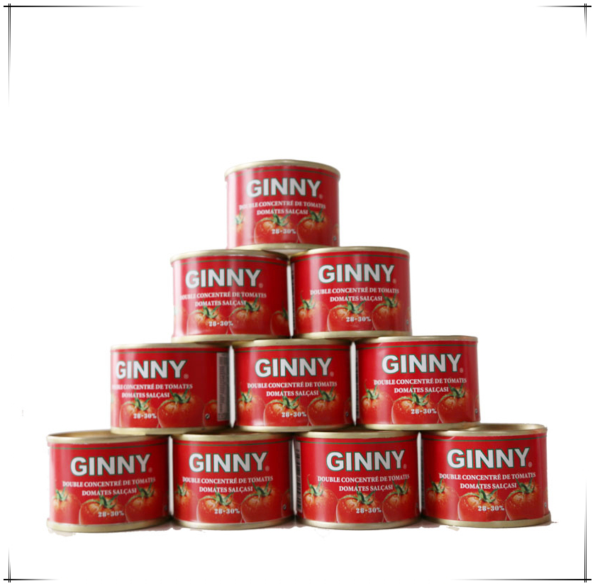 GINNY tomato paste for Togo