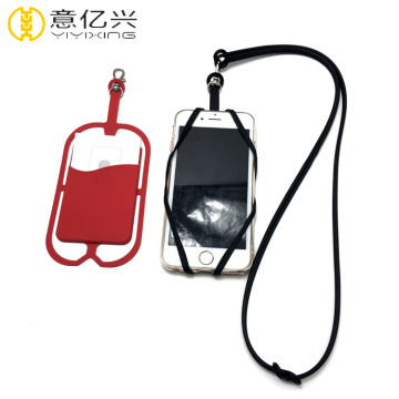 Custom Necklace Silicone Strap Phone Holder Lanyard