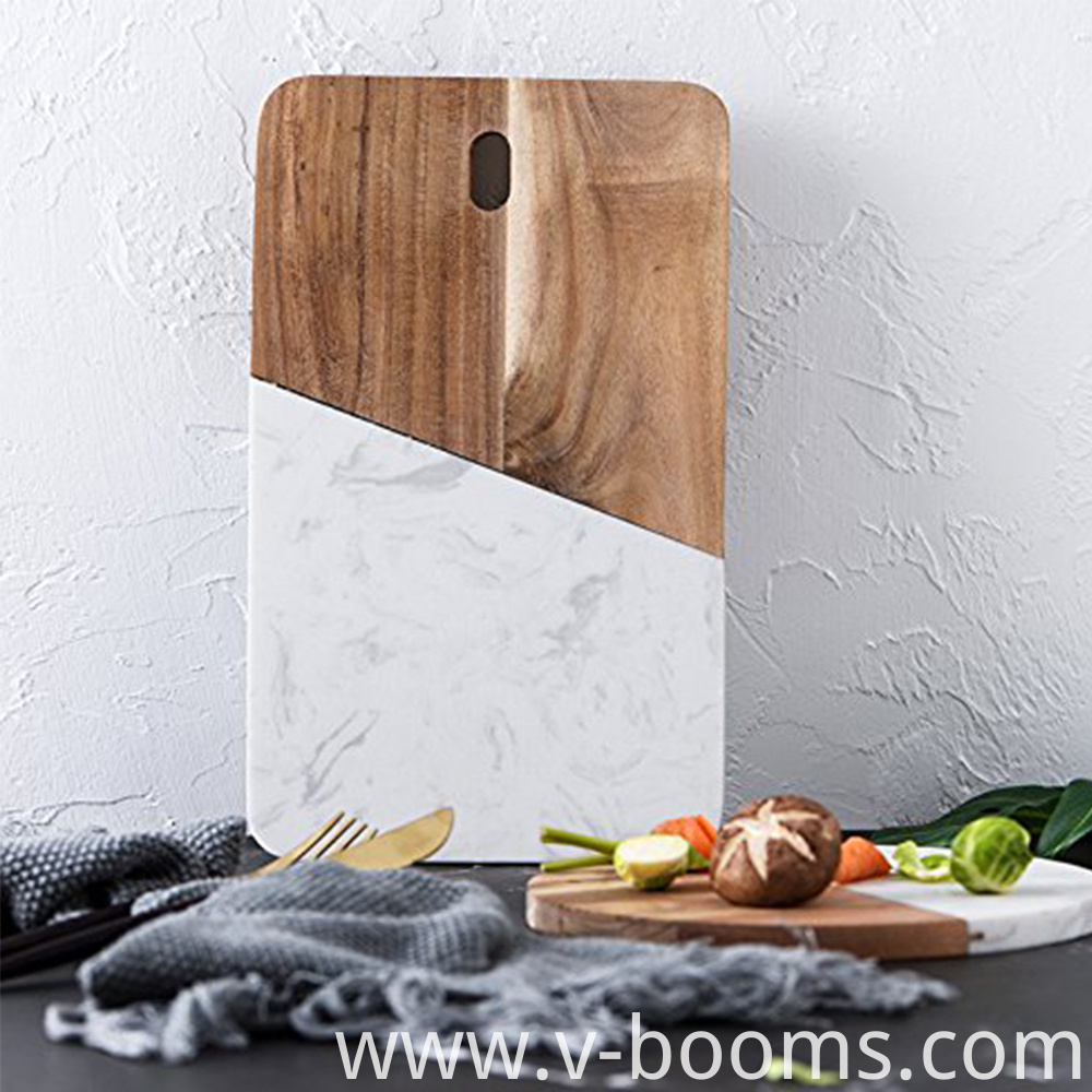 Rectangle Marble Cheese Board