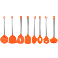 Top for China Silicone Cookware Set,Silicone Kitchen Cookware,Silicone Cooks Tools Cookware Supplier Newest Utility Colorful Silicone Chef Utensils supply to Poland Factory