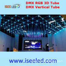 360degree viewing Madrix 3D LED Tube RGB Colourful