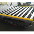 Horizontal stretch wrapper for long products