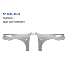 OEM manufacturer custom for HYUNDAI Fender Replacement Steel Body Autoparts HYUNDAI 2003 ELANTRA FENDER supply to Western Sahara Exporter