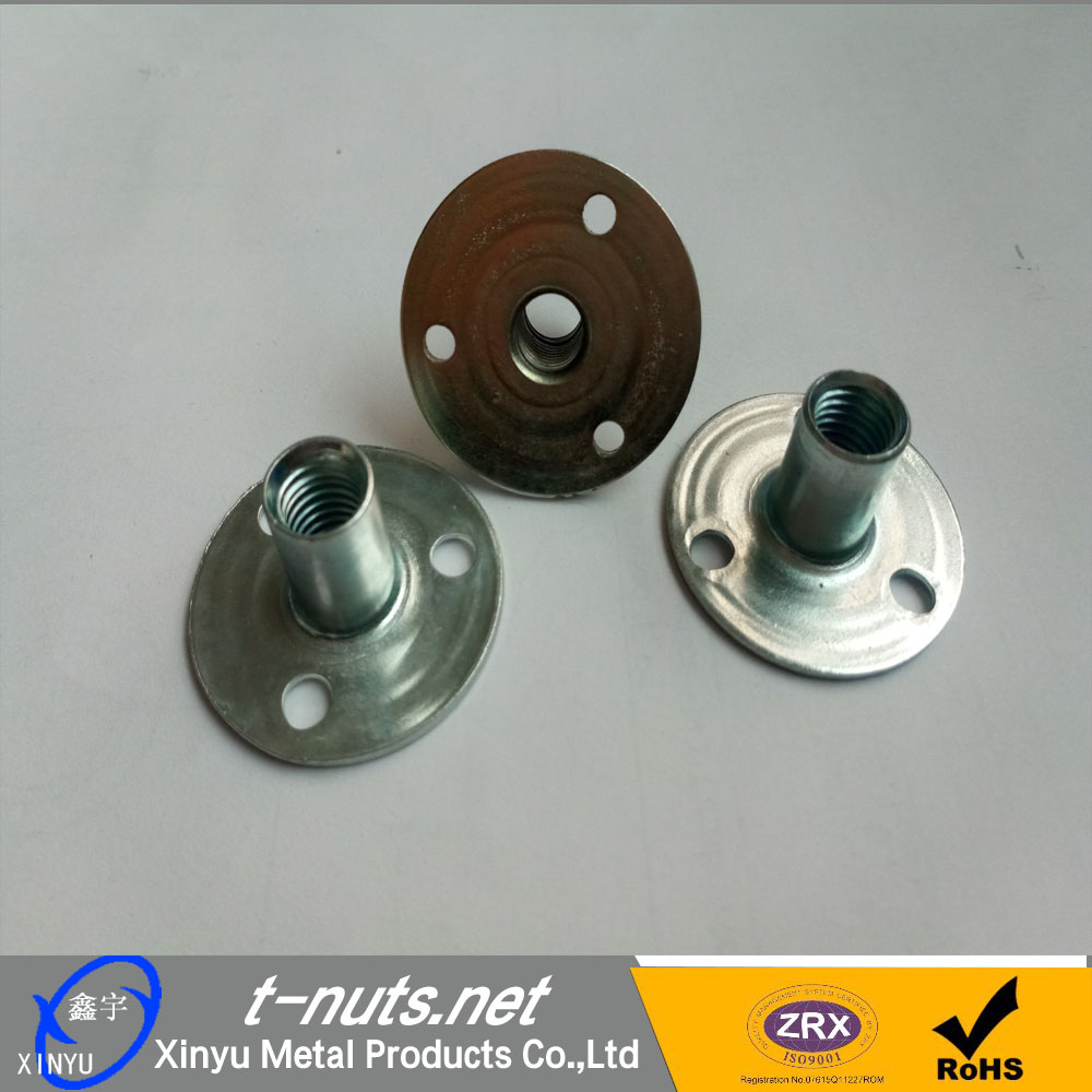 T Nuts with round base