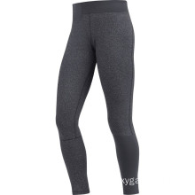 Lady fitness running long black pant