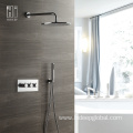 HIDEEP Thermostatic Rain Shower Faucet Set