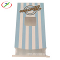 clear window kraft paper bag