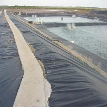 Black High Density Polyethylene geomembrane Pond Liner