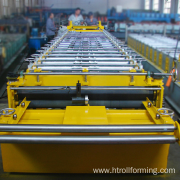 High efficiency building material roof tile iron molding machine