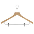 Hotel Wooden Cloth Hanger for Clothing Safety