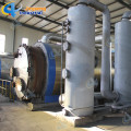 HuaYin Brand 10T Waste Tire Pyrolysis Plant To Diesel Without Smoke