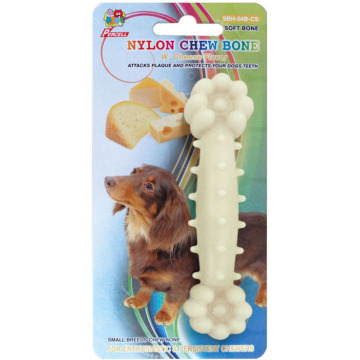 "Percell 4.5"" Nylon Dog Chew Bone cheese Scent"