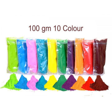 Organic Pink Blue Green Bulk Holi Powder Color