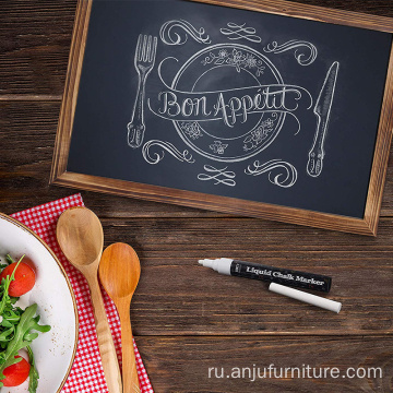 Wood board classroom blackboard wood breakfast chalkboard