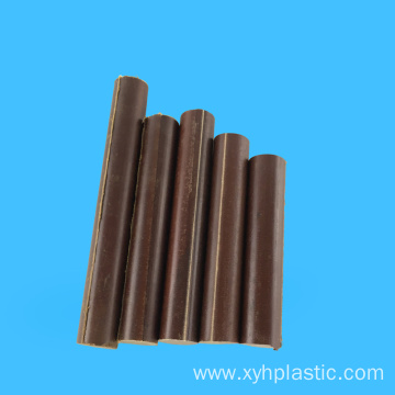 Brown Fabric Cotton Cloth Laminated Rod