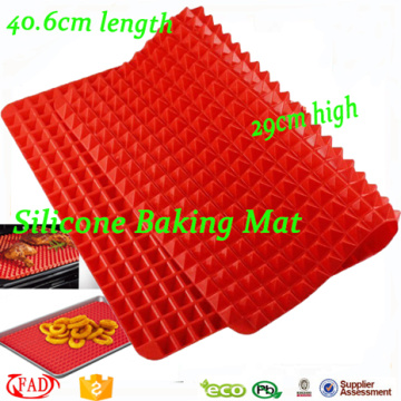 China Exporter for China Pyramid Pan Silicone Baking Mat,Silicone Pastry Mat Non-stick Raised Cone Shaped Silicone Baking mat supply to Barbados Factory
