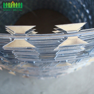 High Security Hot Dipped Galvanized Razor Barbed
