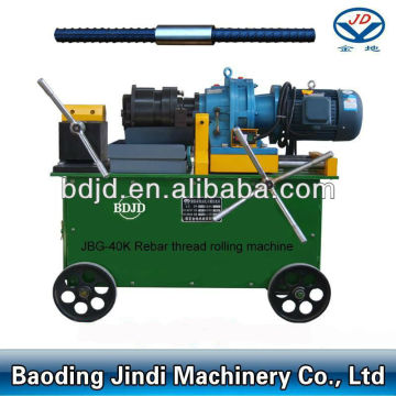JBG-40K Rebar Thread Rolling Machine/threaded rebar