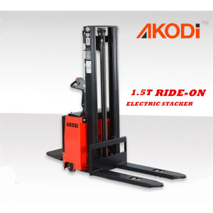 Ride-on Full Electric Stacker 1.5 Ton