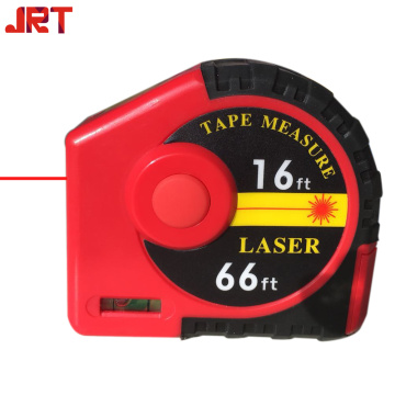Hand held 2 in 1 Laser Measure Tape